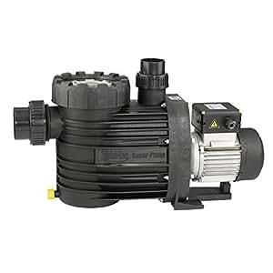 Swim-tec Super-Pump 12 - Bomba filtrante (12 m³/h, hasta 72 m³ de agua)