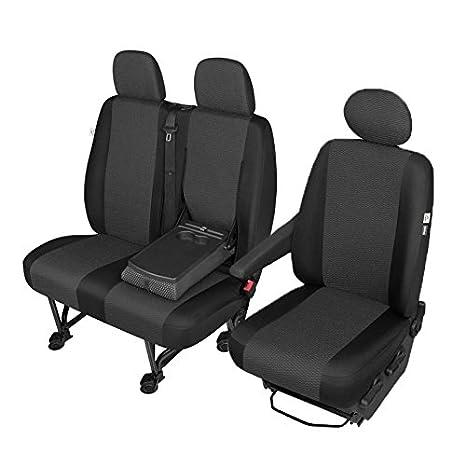 waschbar 2 Stück Universal Autositzbezüge schwarz Auto Schonbezüge schwarz