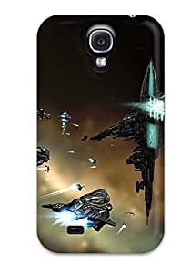 Tpu Case Cover For Galaxy S4 Strong Protect Case - Eve Online Design