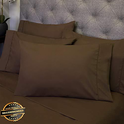 Gatton New Premium Luxury 6 Piece Bed Sheet Set Deep Pocket Egyptian Soft 1500 Thread Count | LINENIENHM-182012093 Queen
