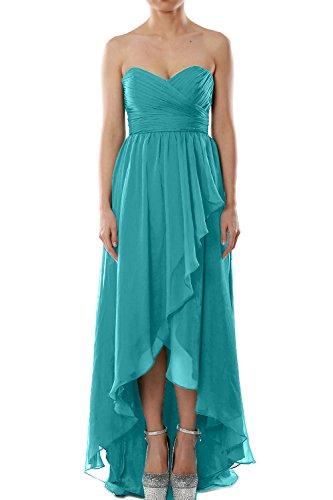 MACloth -  Vestito  - Sera  - Senza maniche  - Donna blu 52