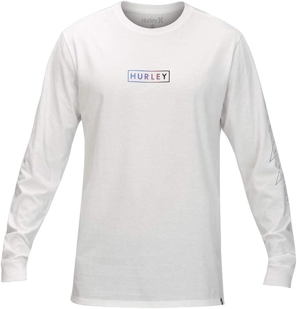 Hurley Premium Gripper - Camiseta de manga larga para hombre - Blanco - Medium: Amazon.es: Ropa y accesorios