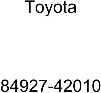 TOYOTA 84927-42010 Seat Memory Switch