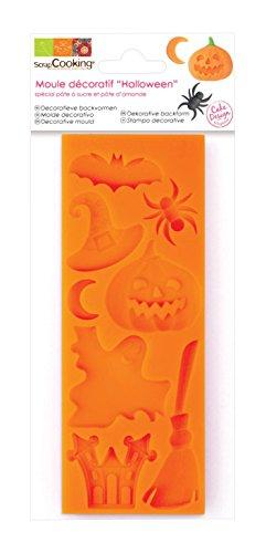 ScrapCooking 3448 Halloween Assortment Mold, Orange -