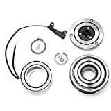 Scion tC A/C Compressors & Components - Sandyshop01 AC Compressor TBVECHI AC A/C Compressor Clutch Repair Kit Electromagnetic AC Compressor Clutch Assembly Kit for 2002-2008 Mini Cooper S All Engines