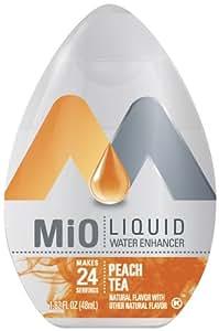 MIO Liquid Peach Tea, 1.62-Ounce, (Pack of 4)