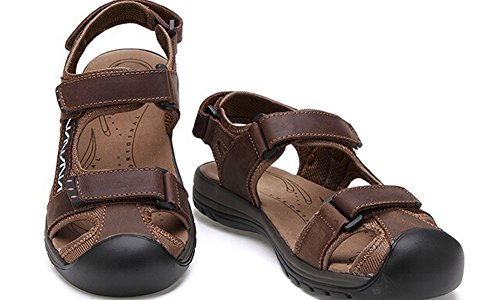 Sandals Brown Arrival New Fisherman GOODS Strap Leather HW Mens 2 zT4Sw4x8
