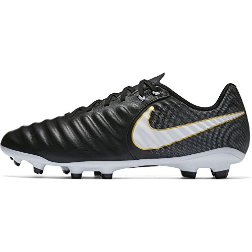 NIKE Black Ligera s 002 White Tiempo Black Fg Iv Shoes Black Men Footbal rfqP4Mr