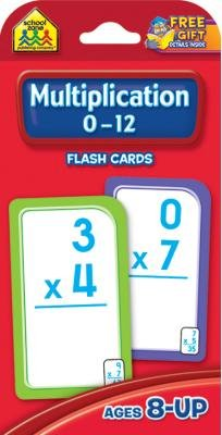 UPC 741655122067 - Flash Cards Multiplication (Pack of 3)