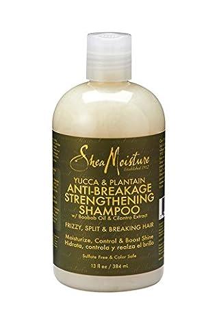 Shea Moisture Yucca & Plantain Anti-breakage Strengthening Shampoo (Pack of 3)