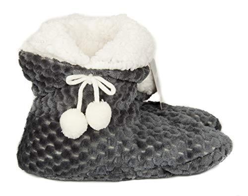 005 Bottes Femme Grigio Claque Article Cheville Pour Chaussons Homewear 2a Pon 824 Ciocca De 5qX7Fx