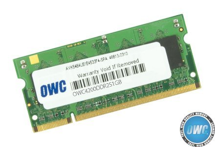 (OWC / Other World Computing 1GB 533MHz 200-Pin SO-DIMM DDR2 (PC4200) Memory Upgrade Module for PowerBook G4 and PC)