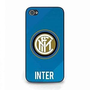 iPhone 4 Protective Funda,Serie A Funda,Glitter iPhone 4 Funda of Football Club Internazionale Milano