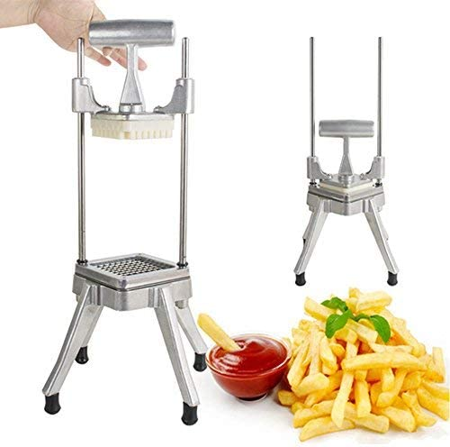 Amazon.com: Stainless Steel Restaurant Commercial Potato Vegetable Fruit Dicer Onion Tomato Slicer Chopper Peppers, Potatoes, Mushrooms Professional Quick Slicer Machine 3-5 Days Delivery: Kitchen & Dining