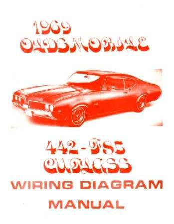 Magnificent Amazon Com 1969 Oldsmobile 442 Cutlass F 85 Wiring Diagrams Automotive Wiring Database Lukepterrageneticorg