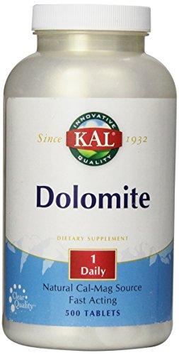 KAL Dolomite Tablets, 250.4 mg, 500 Count For Sale