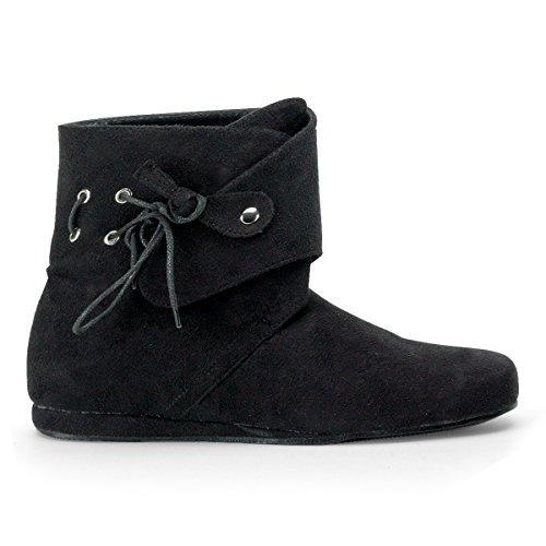 Renaissance Boot Men, 10-11 Medium, Black (Renaissance Style Boots)