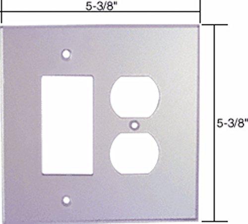 Decora Duplex Acrylic Mirror Plate