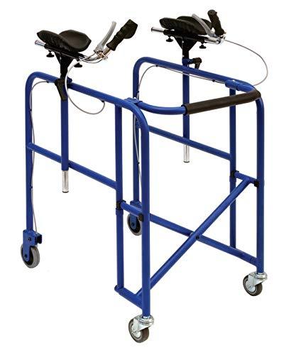 Andador antipulsera - regulable en altura - Wimed - azul ...