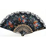 Spanish Hand Fan Decorative Design 2