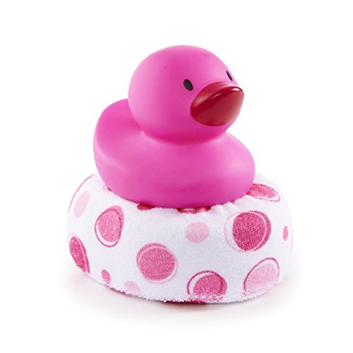 Pink Duck - Munchkin Duck Duck Clean Sponge Bath Toy, Pink