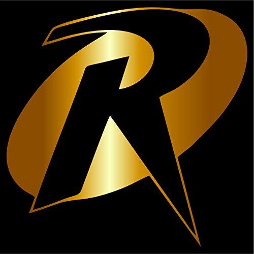 Robin Decal / Sticker - Gold 4