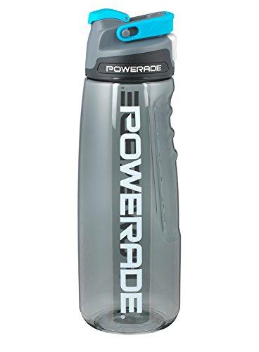 Powerade Chug Water Bottle, Charcoal, 32 oz