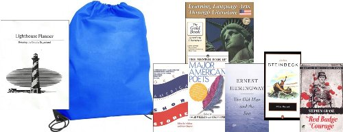 Learning Language Arts Through Literature Gold American Literature (High School) Set Homeschool Kit in a Bag