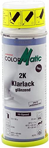 Colormatic 187216 2k Klarlack Mit Härter 200 Ml Auto