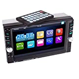 Car MP5 Player, 6.6Inch TFT Touch Screen HD Car Stereo Radio Player Front
