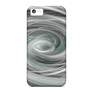 LJF phone case New BDfzDGg1984Bvuwg White Vortex Abstract Skin Case Cover Shatterproof Case For iphone 5/5s