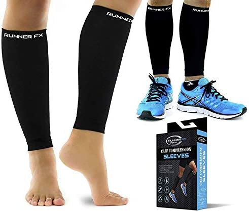 Calf Compression Sleeve Womens 20 30mmHg product image