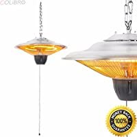 COLIBROX--17 Electric Patio Infrared Outdoor Ceiling Heater Indoor Tent Hanging Garden. home depot outdoor ceiling fans with light. amazon outdoor ceiling fans. electric patio heater amazon.