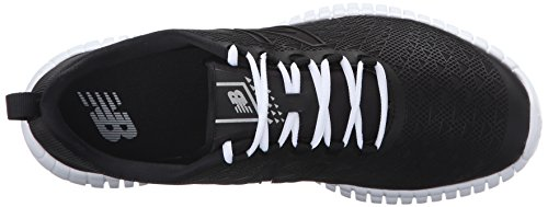 New Balance Womens 99v1 Flexonische Trainingsschoen Zwart / Wit