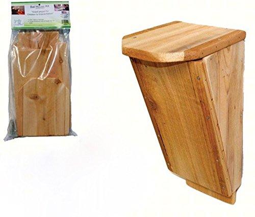 Songbird Essentials Bat Box House Kit with Free Book on Understanding (Songbird Essentials Bat House)