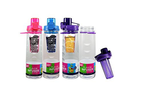Quality Home Sport Fruit Infuser Water Bottle- 25 Oz- Bpa Free