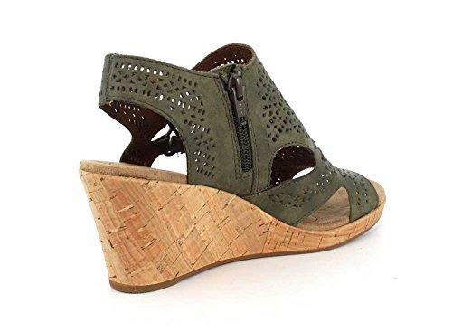 Eu Ch Rockport Green Nbk Femme Chaussures Perf Bt Janna 39 EEU0wqP