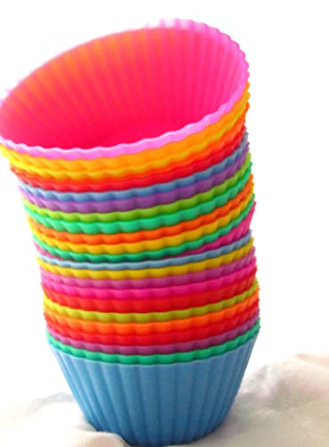 (Silicone Cupcake Liners