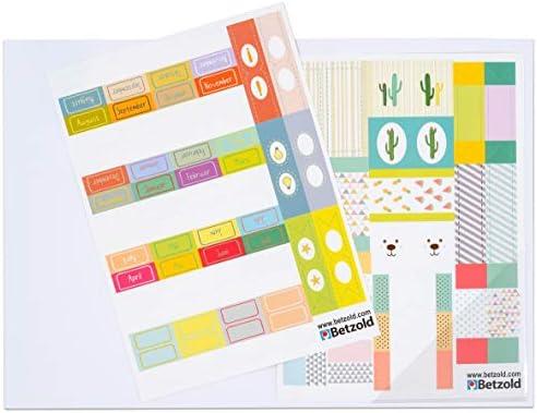 Betzold 758777 - Index-Sticker für Kalender und Planer - Zubehör Schulplaner Lehrerkalender