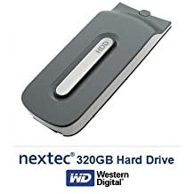 Xbox 360 FAT (320 GB) Hard Disk Drive HDD for Microsoft Xbox 360 Console (FAT Console Only/ Not Slim)