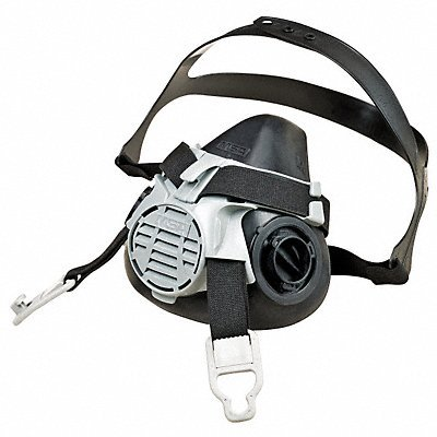 MSA 10119574 Advantage 420 Half-Mask Respirator with Comfo Adapter, Large