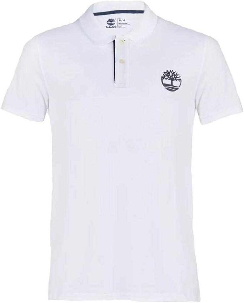 Timberland SS Piquet Polo de Hombre Blanco: Amazon.es: Ropa y ...