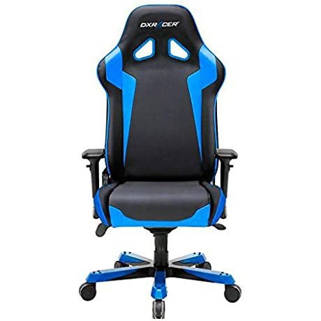 DXRacer OH SJ00 Sentinel Bucket Seat Office Chair Gaming Ergonomic With Lumbar Suppor Black Blue