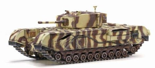 (Dragon Models Churchill Mk.III 145th Royal Armoured Corps 21st Brigade Junior Regiment Tank Model Building Kit, 1:72 Scale)