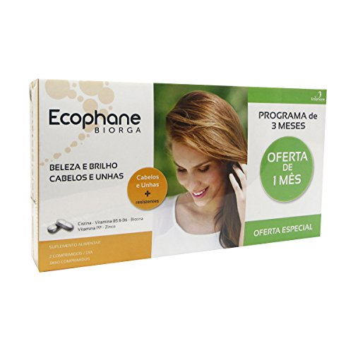 Ecophane Hair And Nails Pack 3x60caps