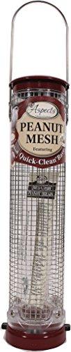 Aspects 432 Quick Clean Peanut Mesh Tube Bird Feeder
