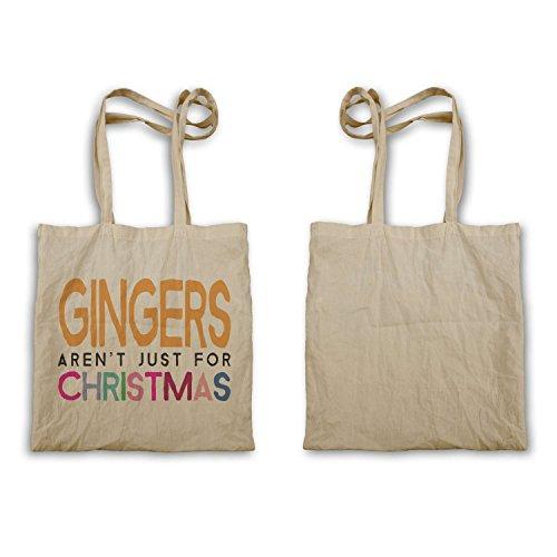 Gingers non sono solo per Natale T-shirt regali perfetti tote bag d87r