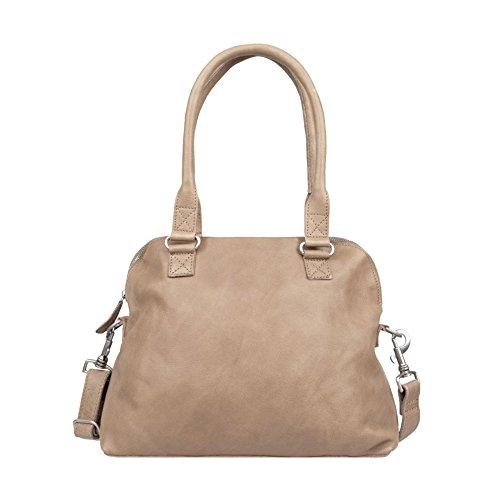Cowboysbag Bag Carfin Borsa a tracolla pelle 36 cm Sand
