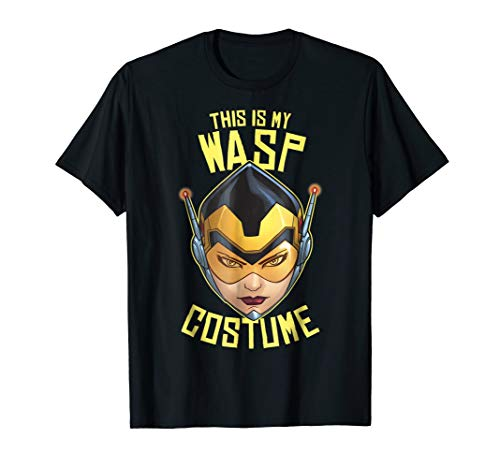 Marvel The Wasp Halloween Costume Graphic T-Shirt]()
