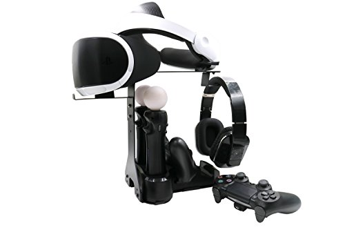 Balerion-PlayStation-VR-Showcase-Stand-Display-Station-Controller-Charging-StandStationCharging-Dock-for-PlayStation-VR-and-PS-Move-Motion-Controller-CDZJ